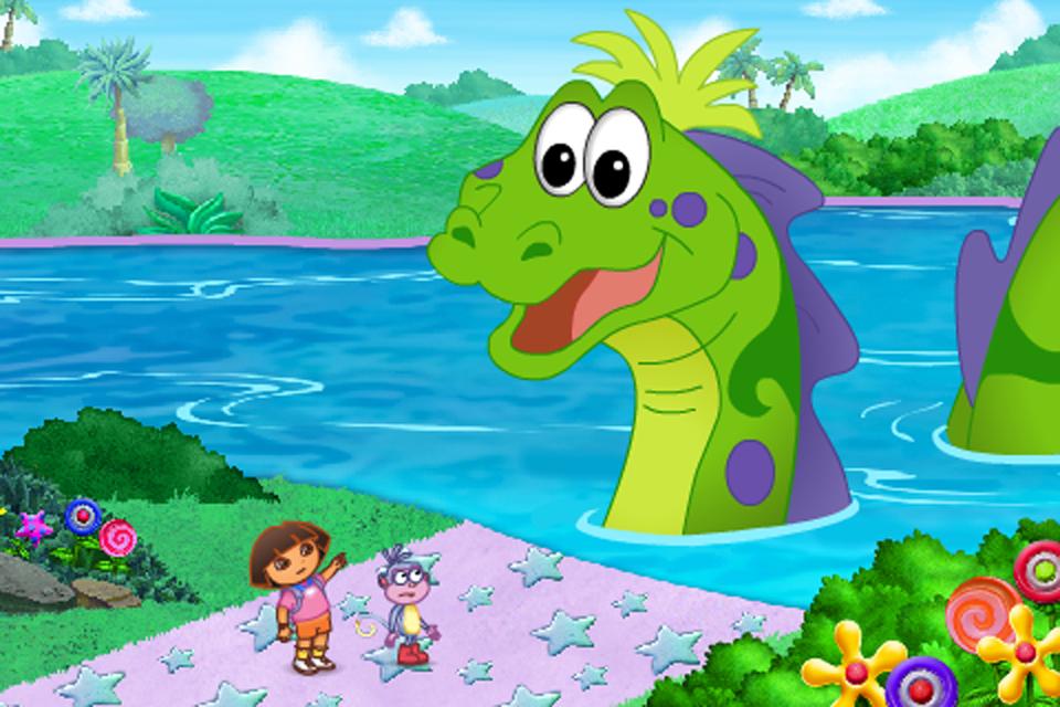 Screenshot Dora's Big Birthday Adventure