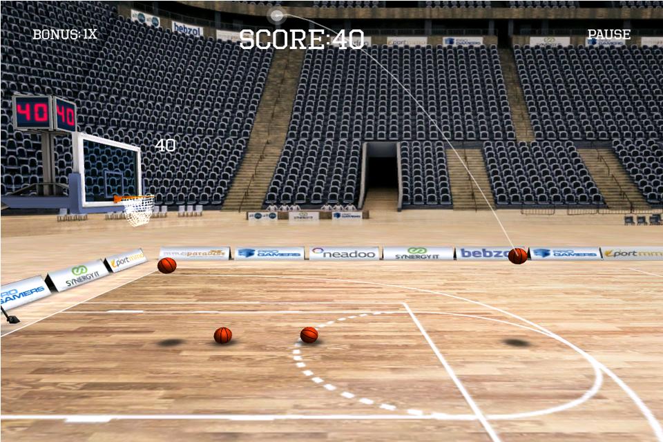 Screenshot iLike Basket